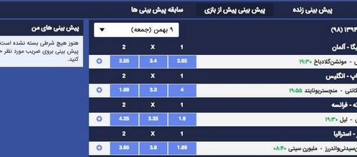 پیش بینی فوتبال 246325754 - ترفند پیش بینی فوتبال برای شرط بندی بهتر و بالا بردن درصد موفقیت در پیش بینی